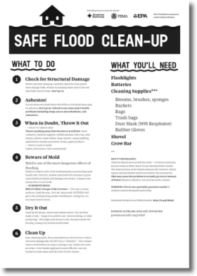 Safe Flood Clean-Up