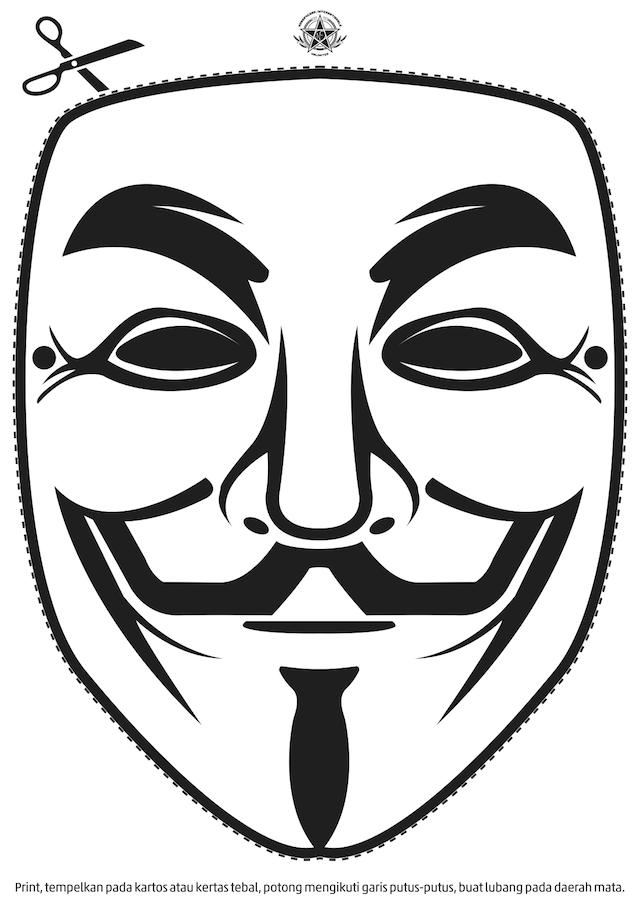 Как из бумаги сделать страшную маску